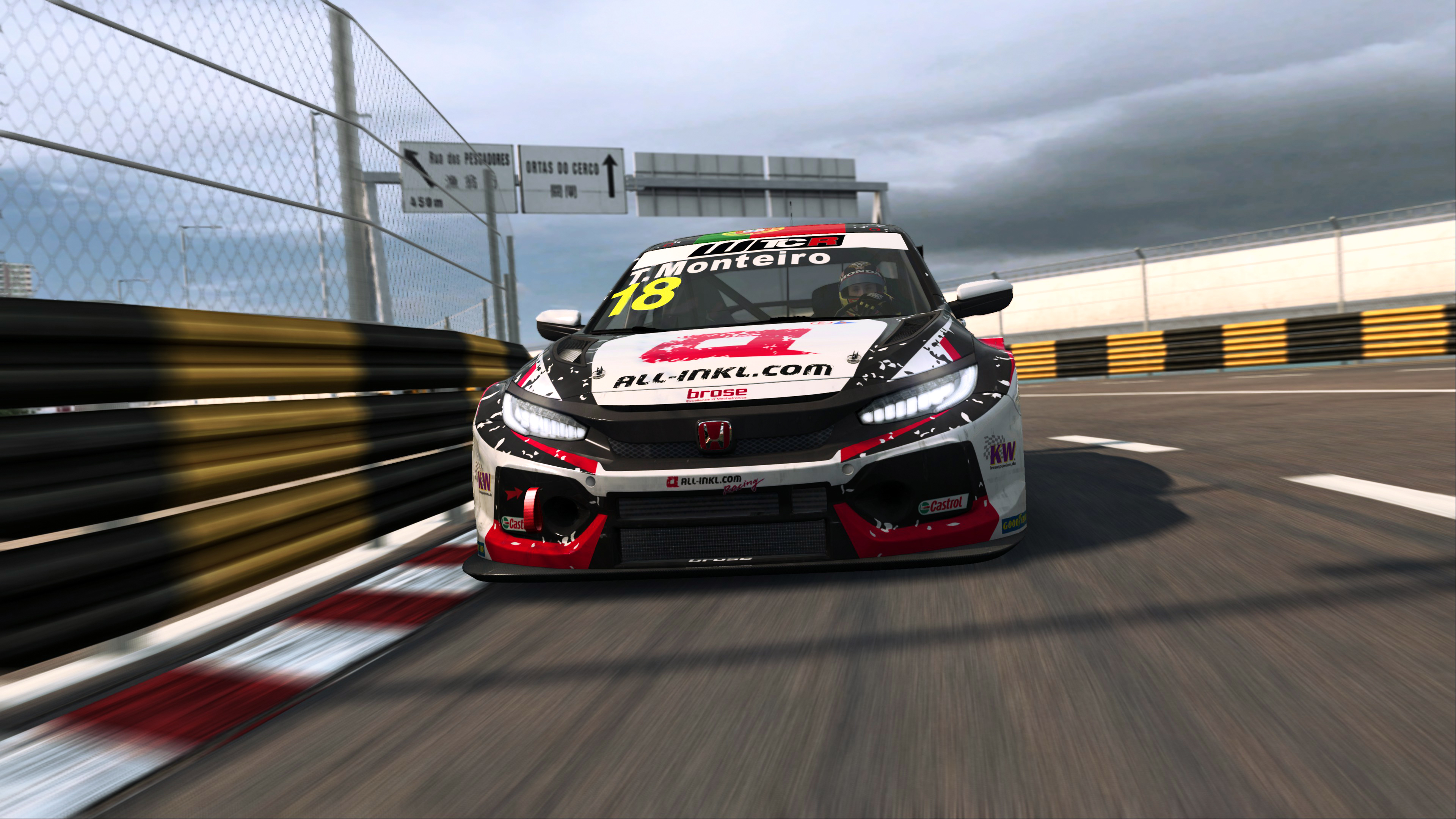 Monteiro's big Macau Pre-season Esports WTCR gamble pays off