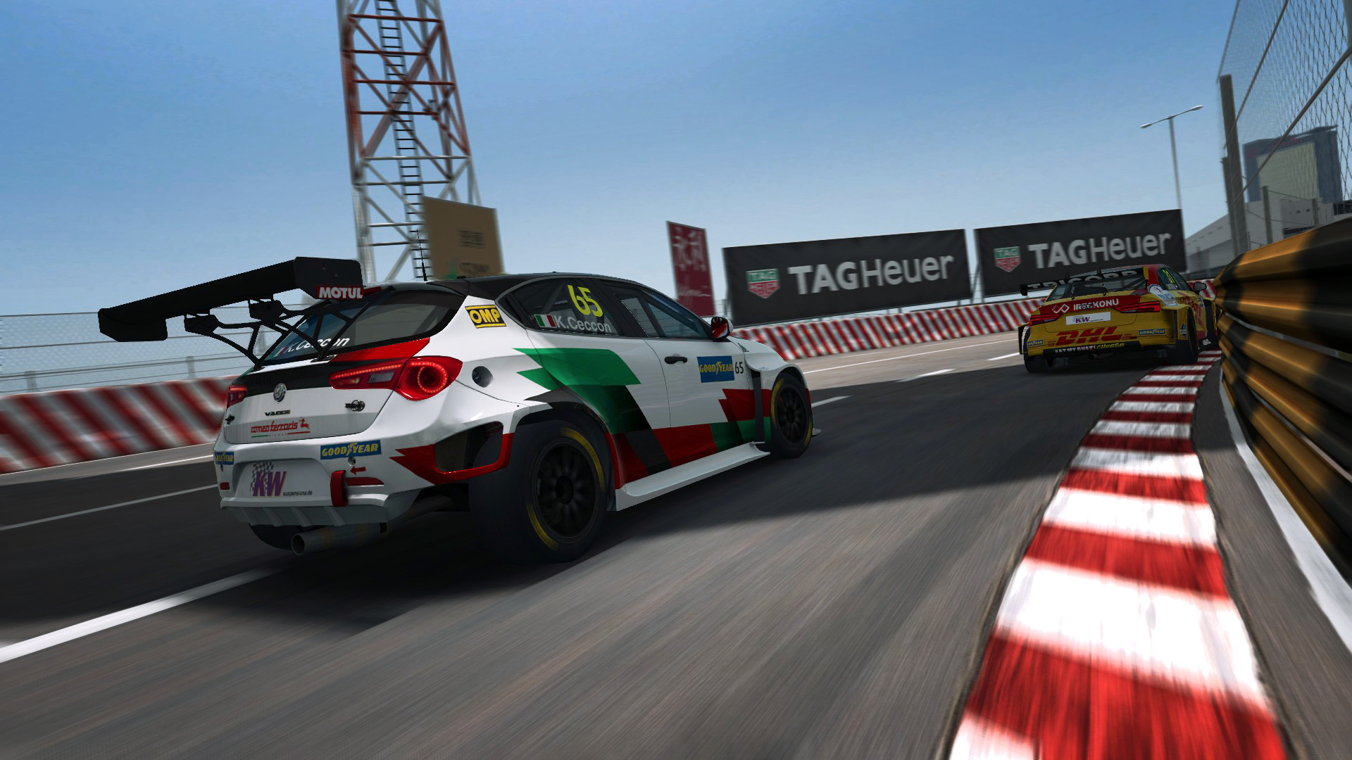 Who's on the Pre-season Esports WTCR grid at a virtual Macau?