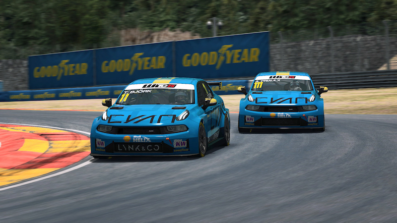 Can Björk make his mark on the Pre-season Esports WTCR track he mastered online?