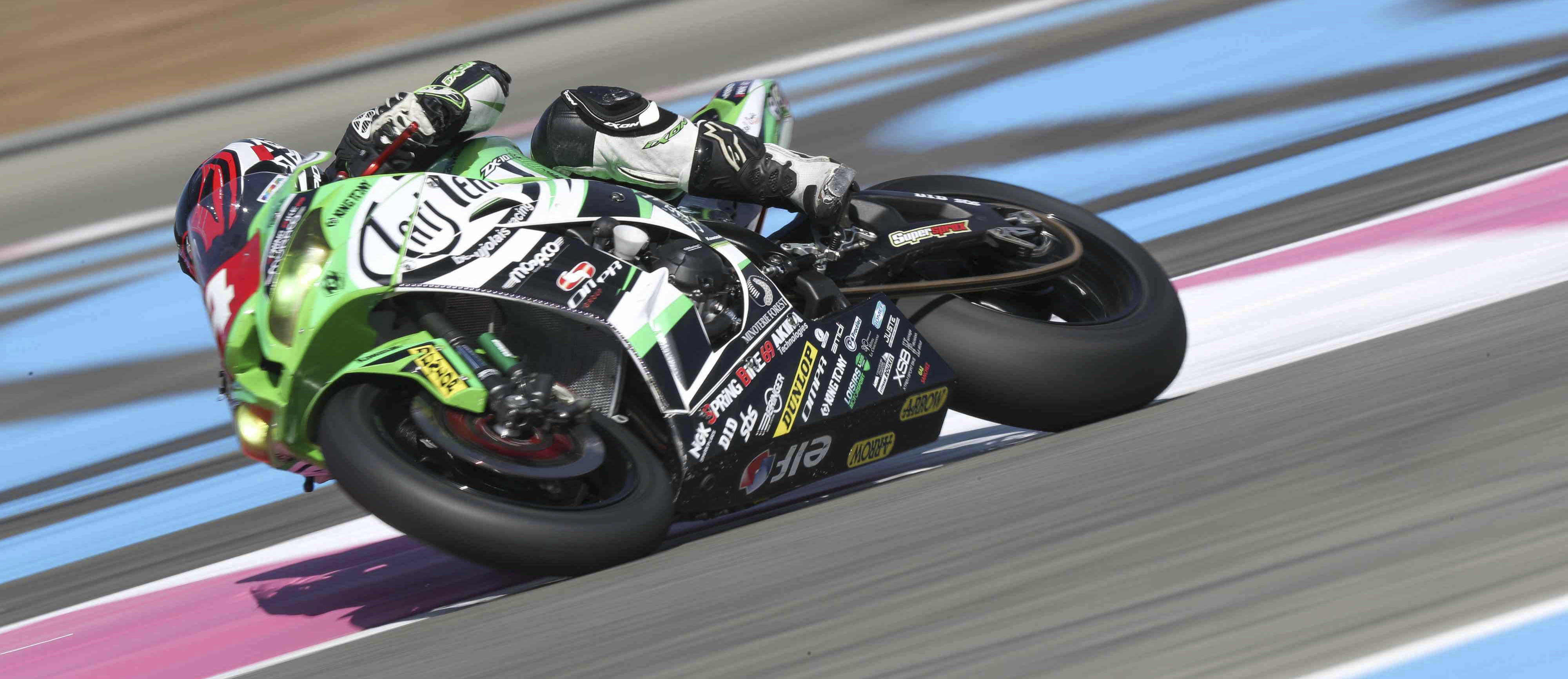 Tati Team Beaujolais Racing dominating Superstock class