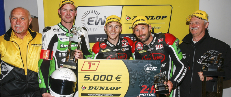 Tati Team Beaujolais Racing, winner of the EWC Dunlop Independent Trophy