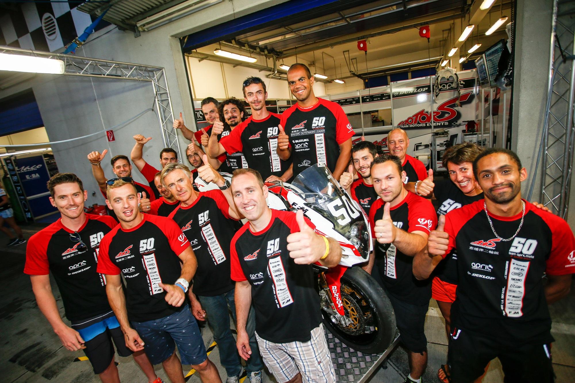 Team April Moto Motors Events: a smooth progression