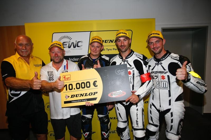Starteam PAM-Racing wins EWC Dunlop Independent Trophy