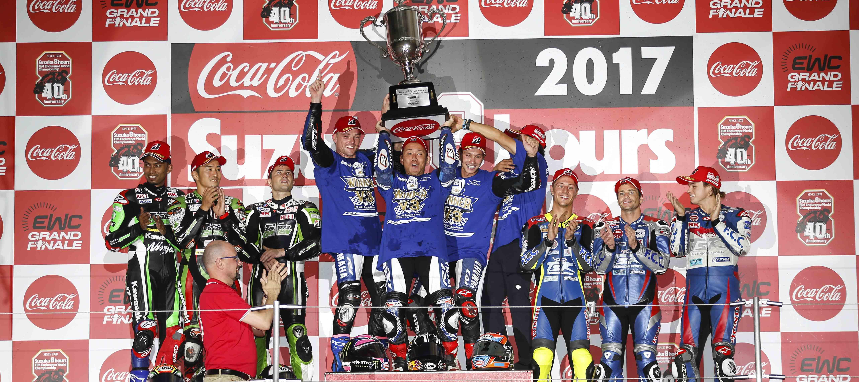 Triplé réussi pour Yamaha Factory Racing Team