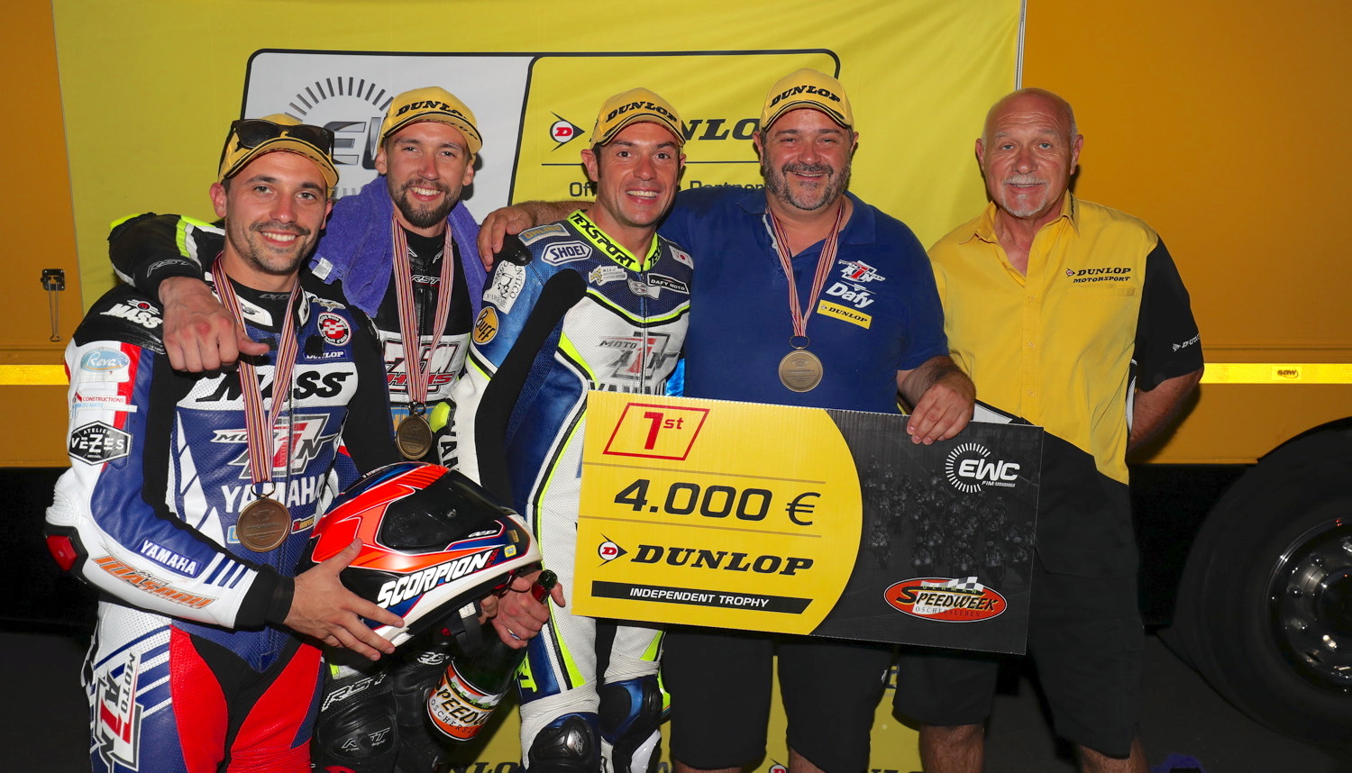 Moto Ain wins EWC Dunlop Independent Trophy in Germany