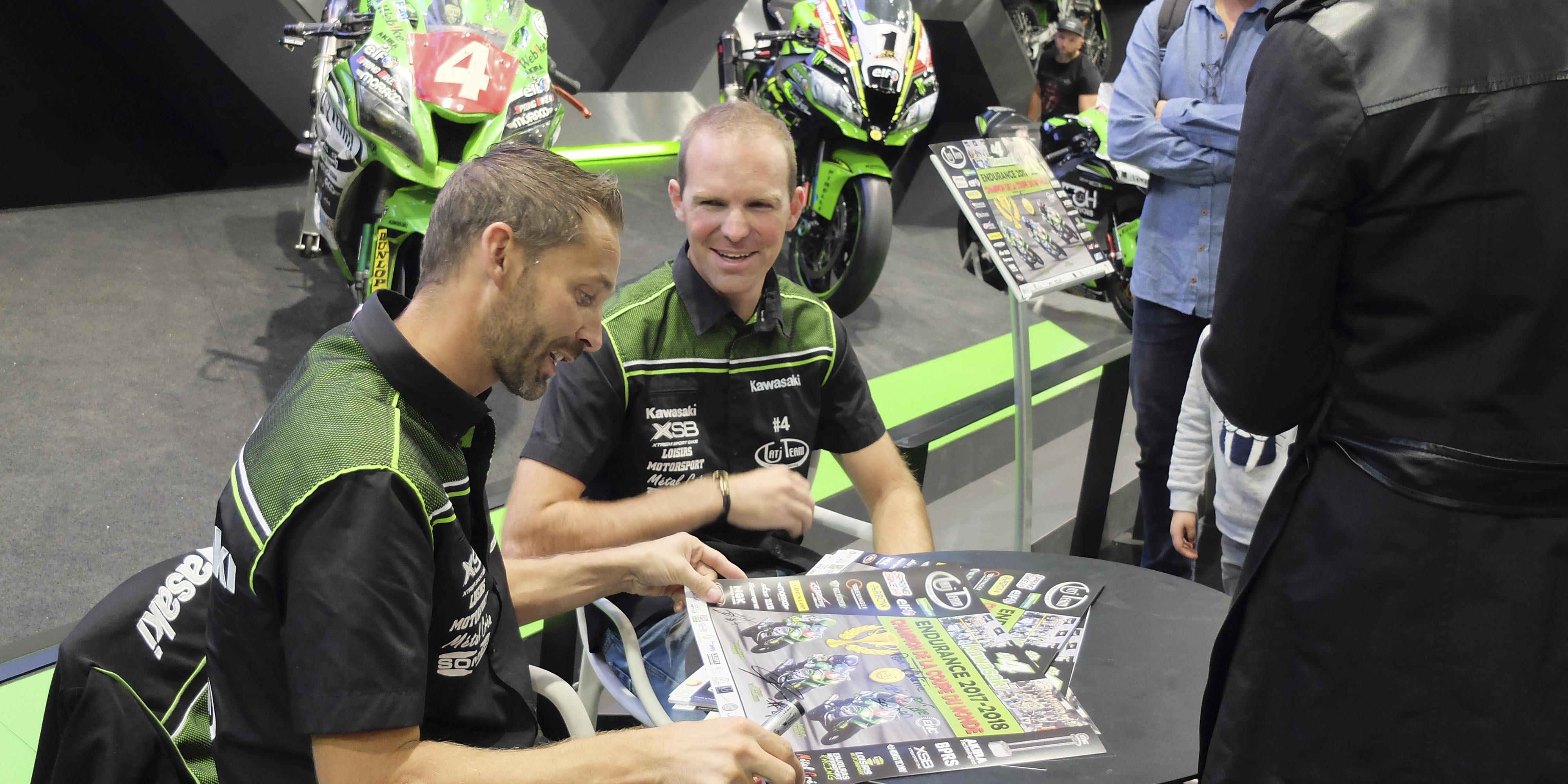 パリ・モーターサイクルショーに耐久シリーズのマシンが多数登場