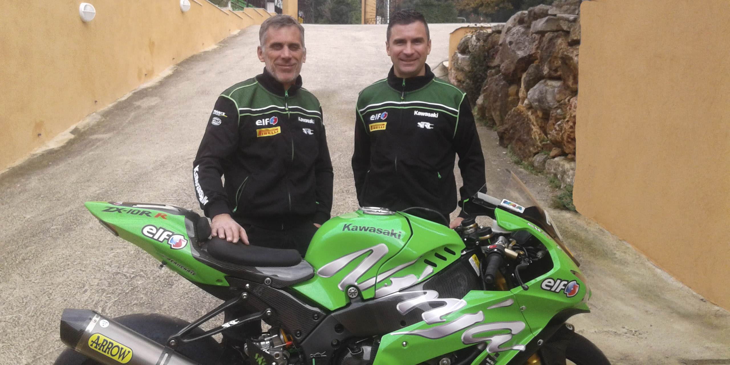 Erwan Nigon rejoint le Team SRC Kawasaki France