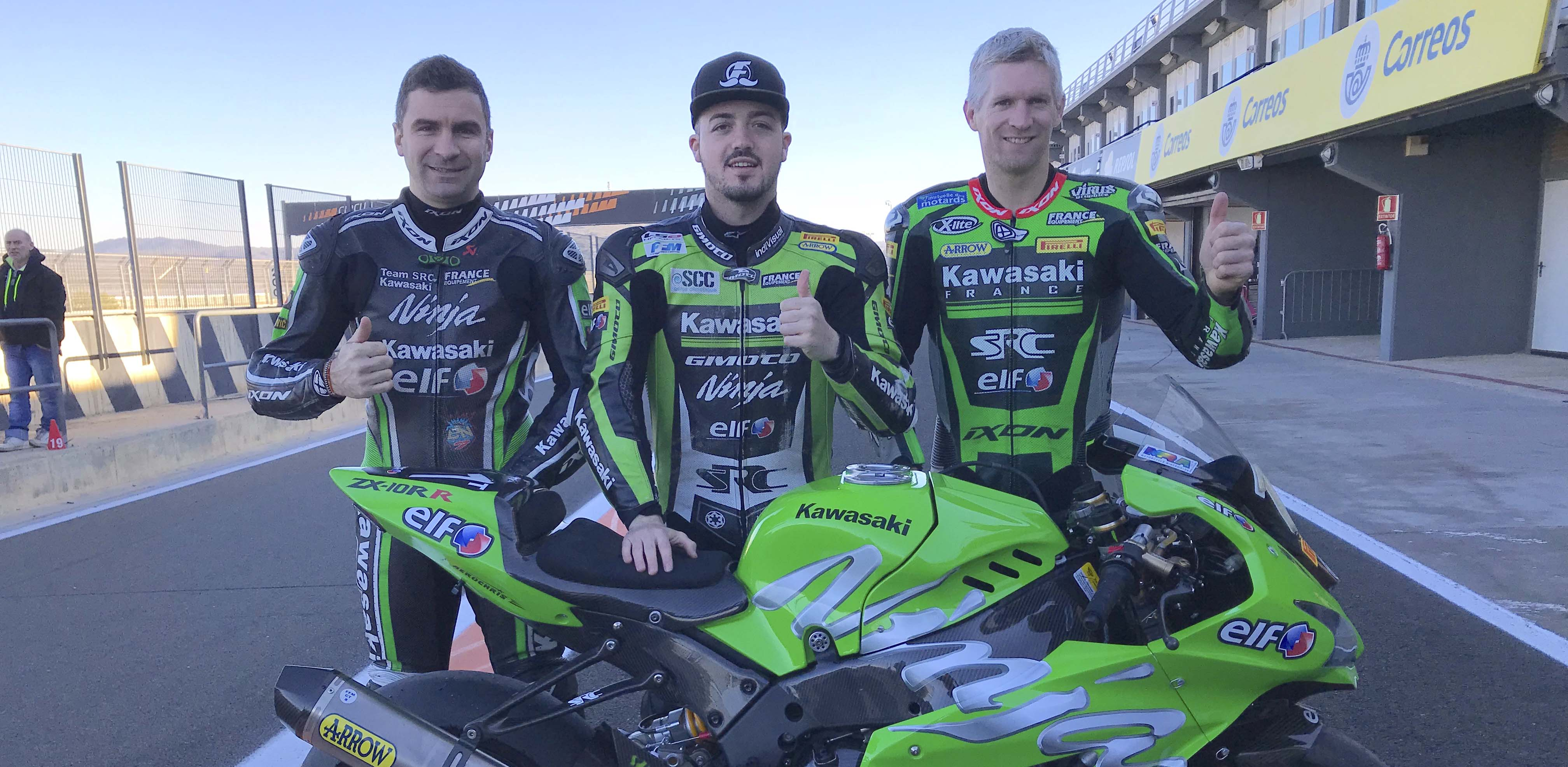 SRC Kawasaki France back on track