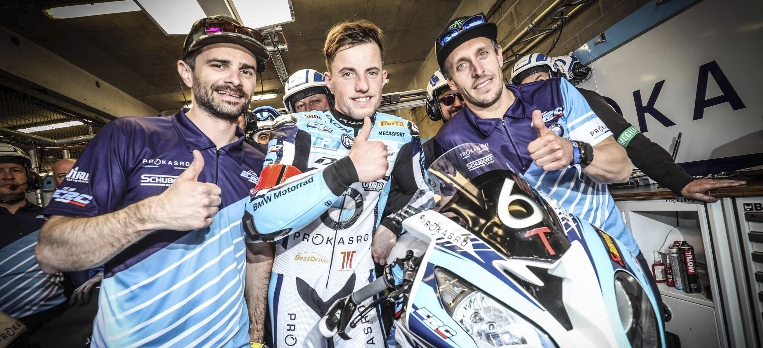 ERC-BMW Motorrad takes pole position