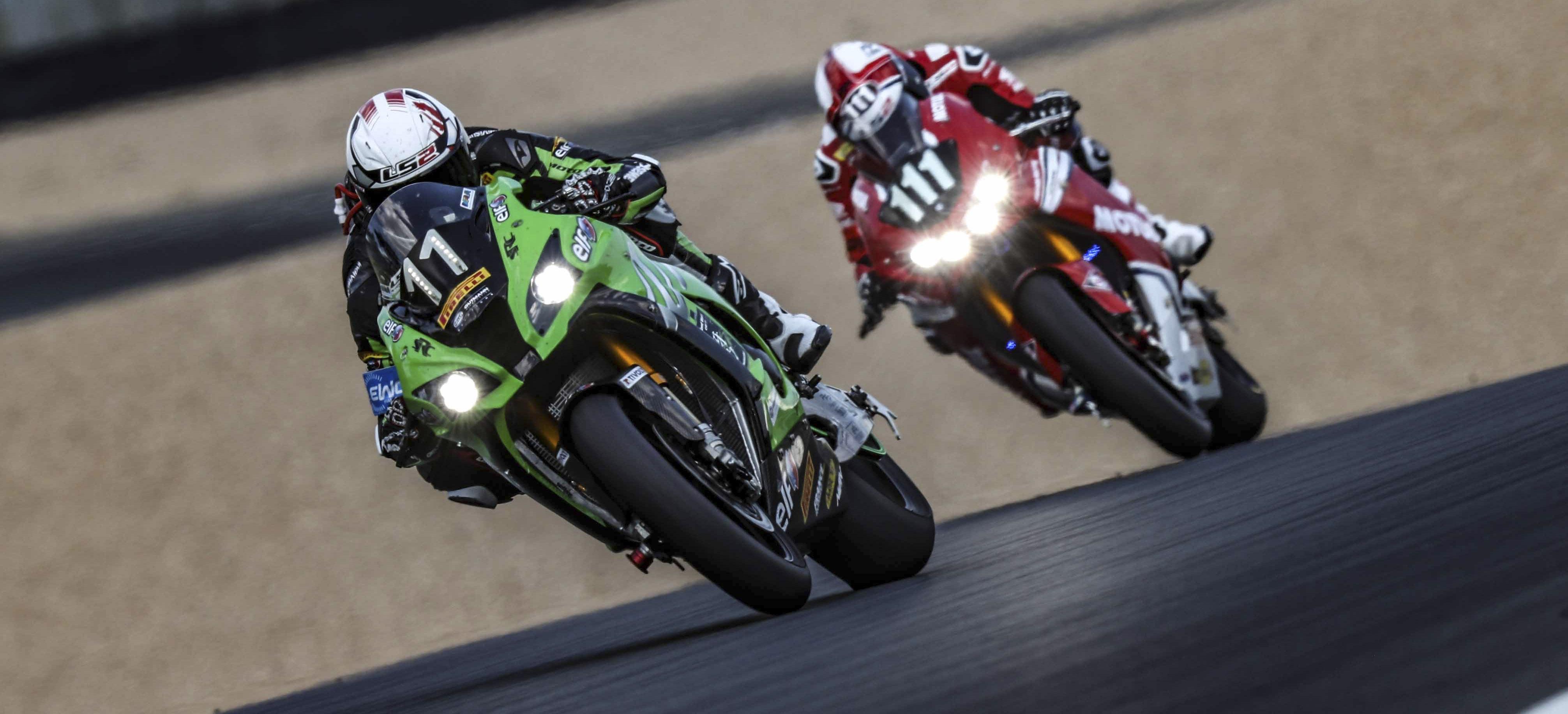 SRC Kawasaki aux commandes des 24 Heures Motos