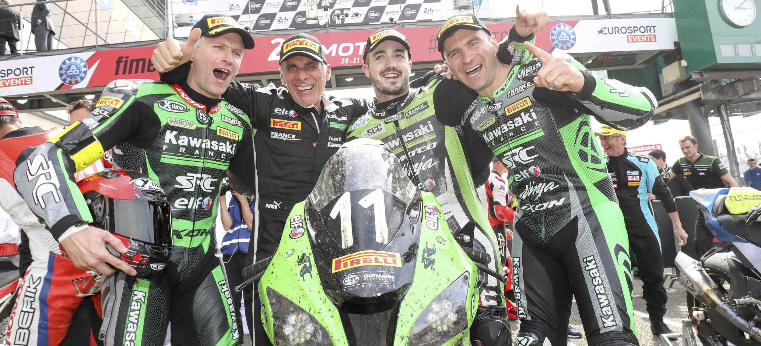 SRC Kawasaki wrest victory from Honda Endurance Racing
