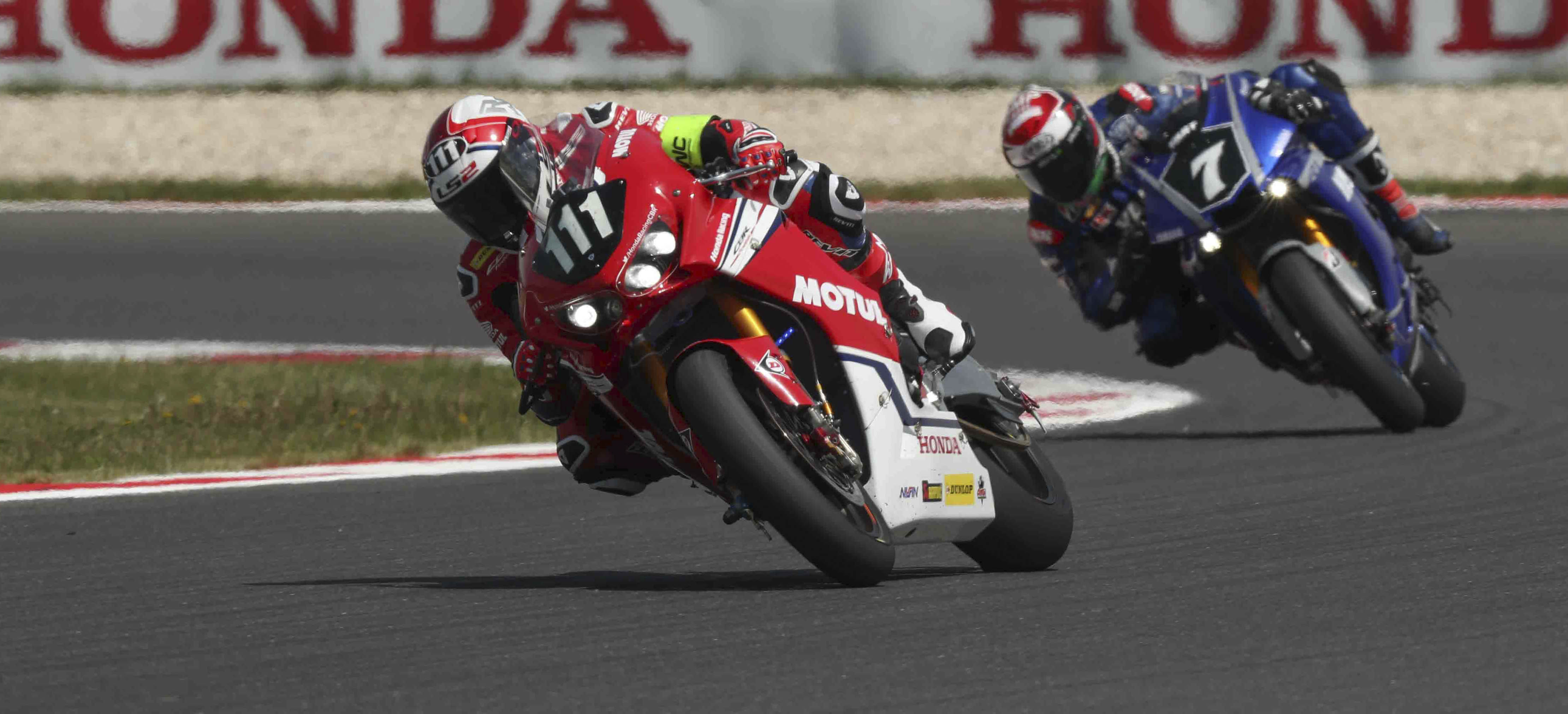 Honda Endurance Racing in the lead on the Slovakia Ring