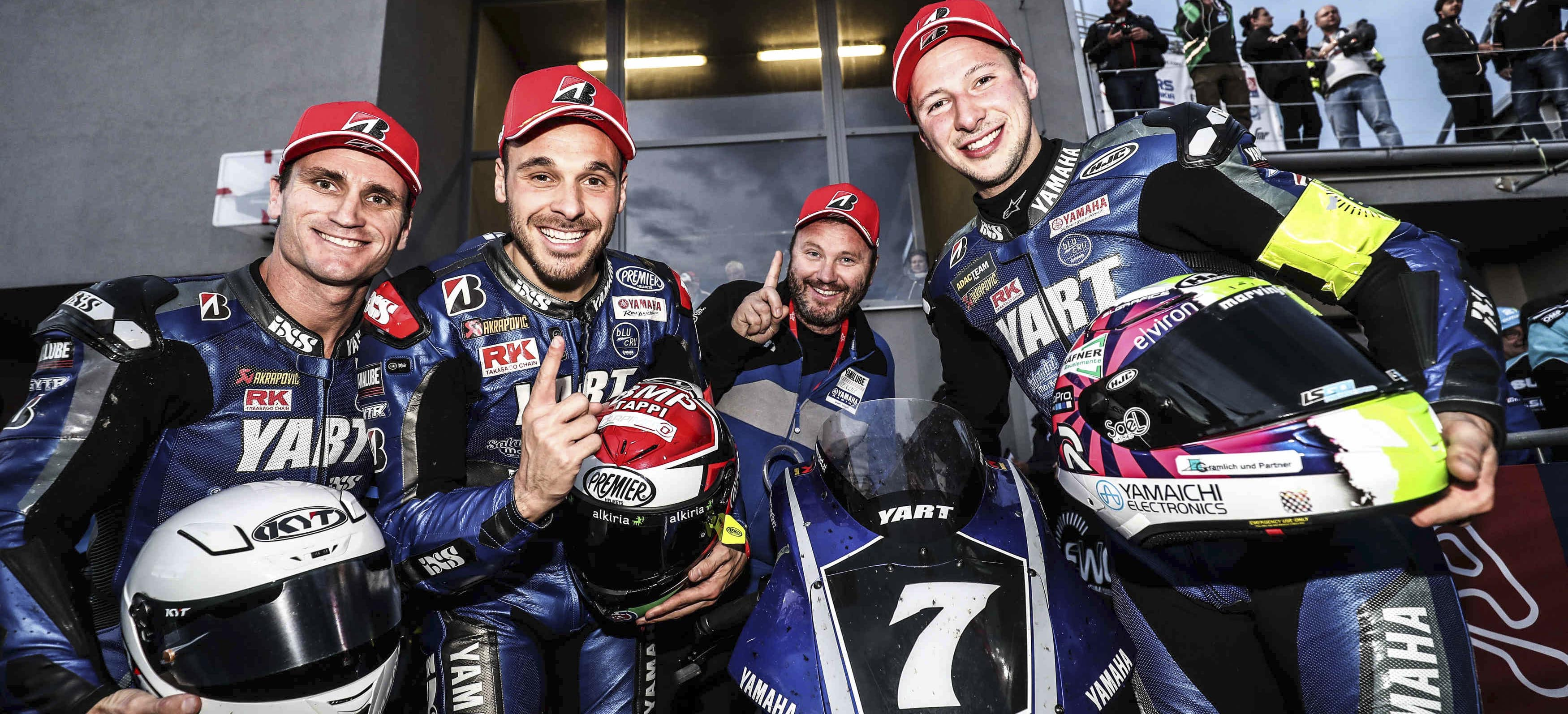 YART win Slovakia race