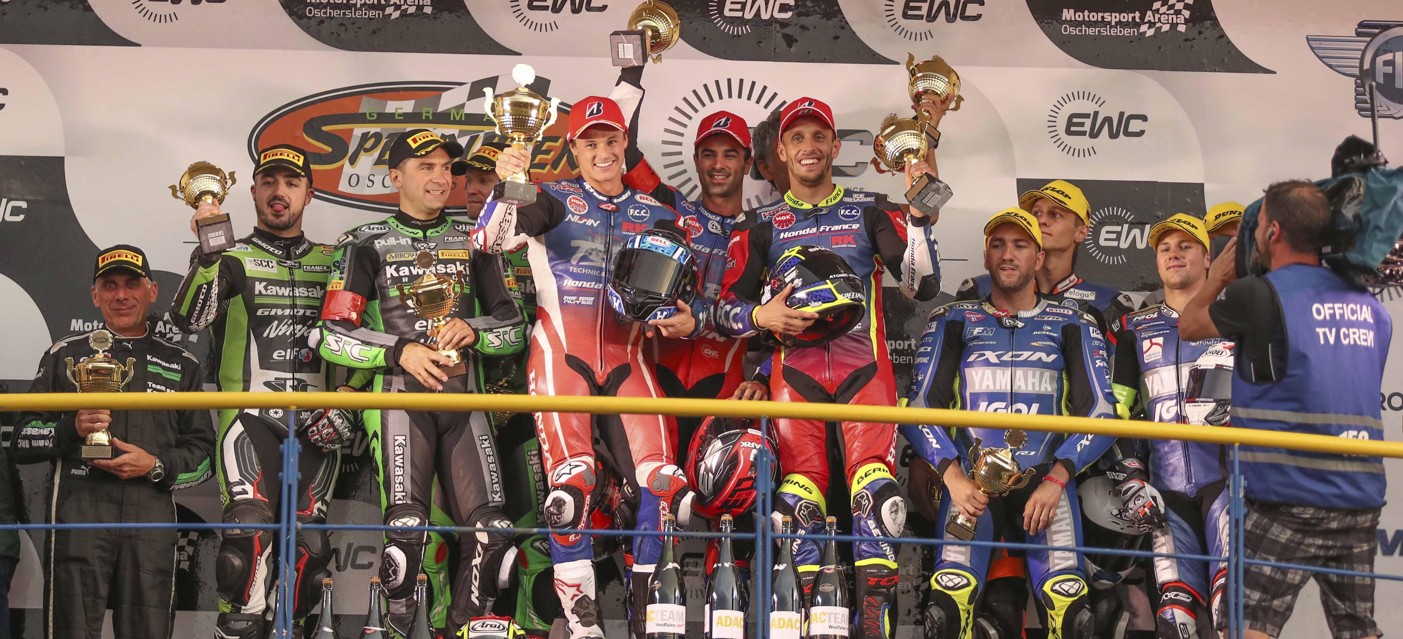 F.C.C. TSR Honda France win in Germany