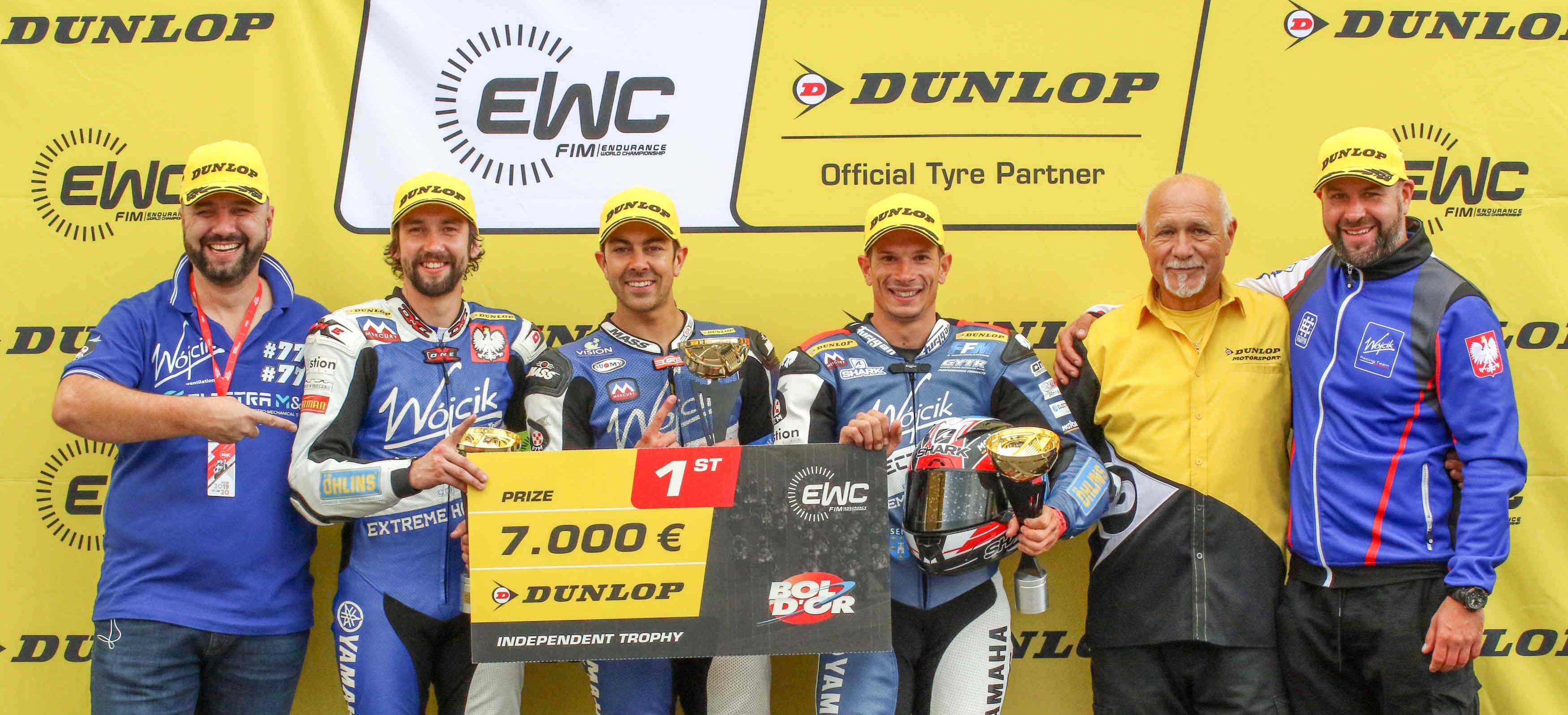 Wójcik Racing Team, vainqueur du EWC Dunlop Independent Trophy au Bol d'Or