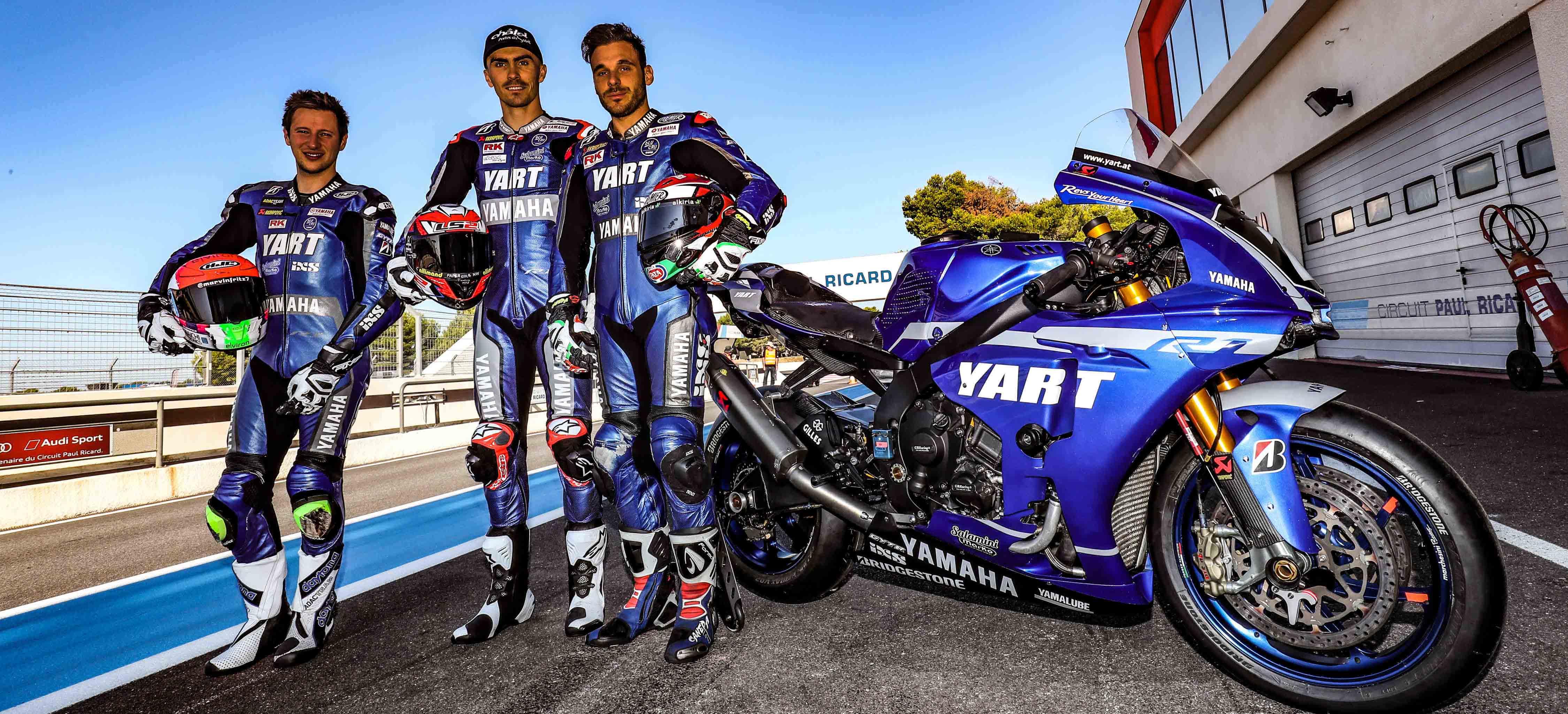 Yamaha YART làm chủ kết quả vòng chạy thử giải đua xe Bol d'Or