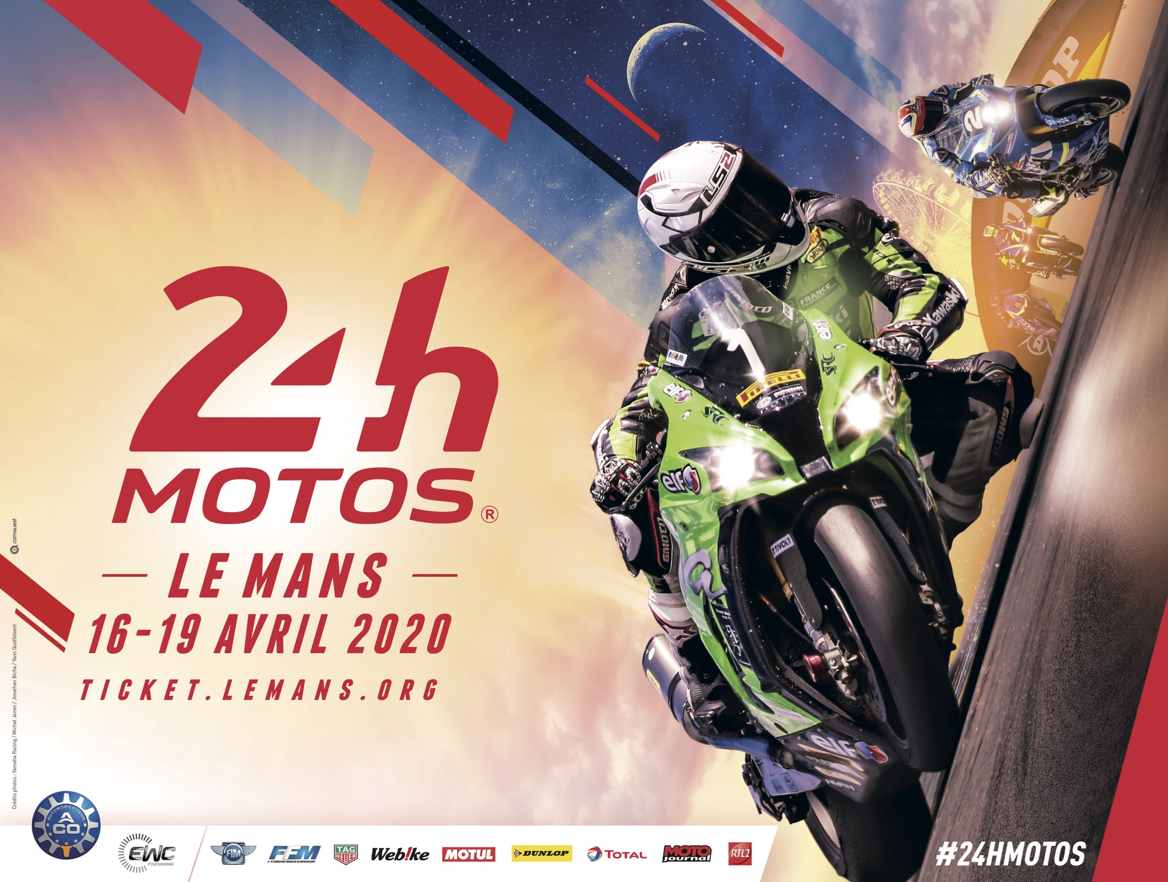 A first glimpse of the 2020 24 Heures Motos