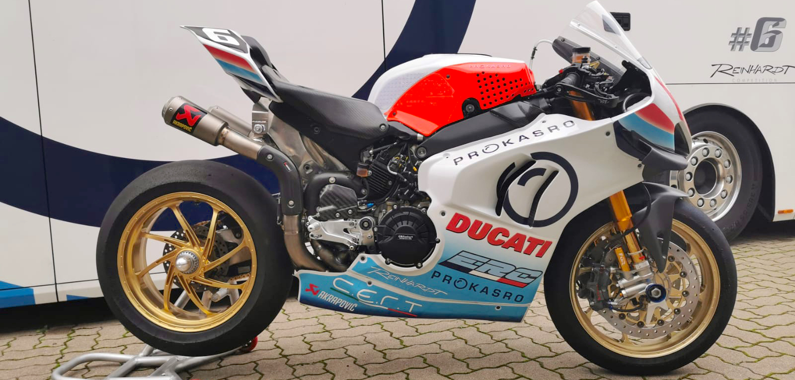 Ducati joins forces with Team ERC for FIM EWC