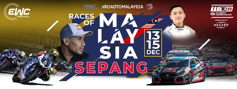 Chặng đua Sepang 8 giờ sẽ bắt đầu trong 5 ngày nữa !