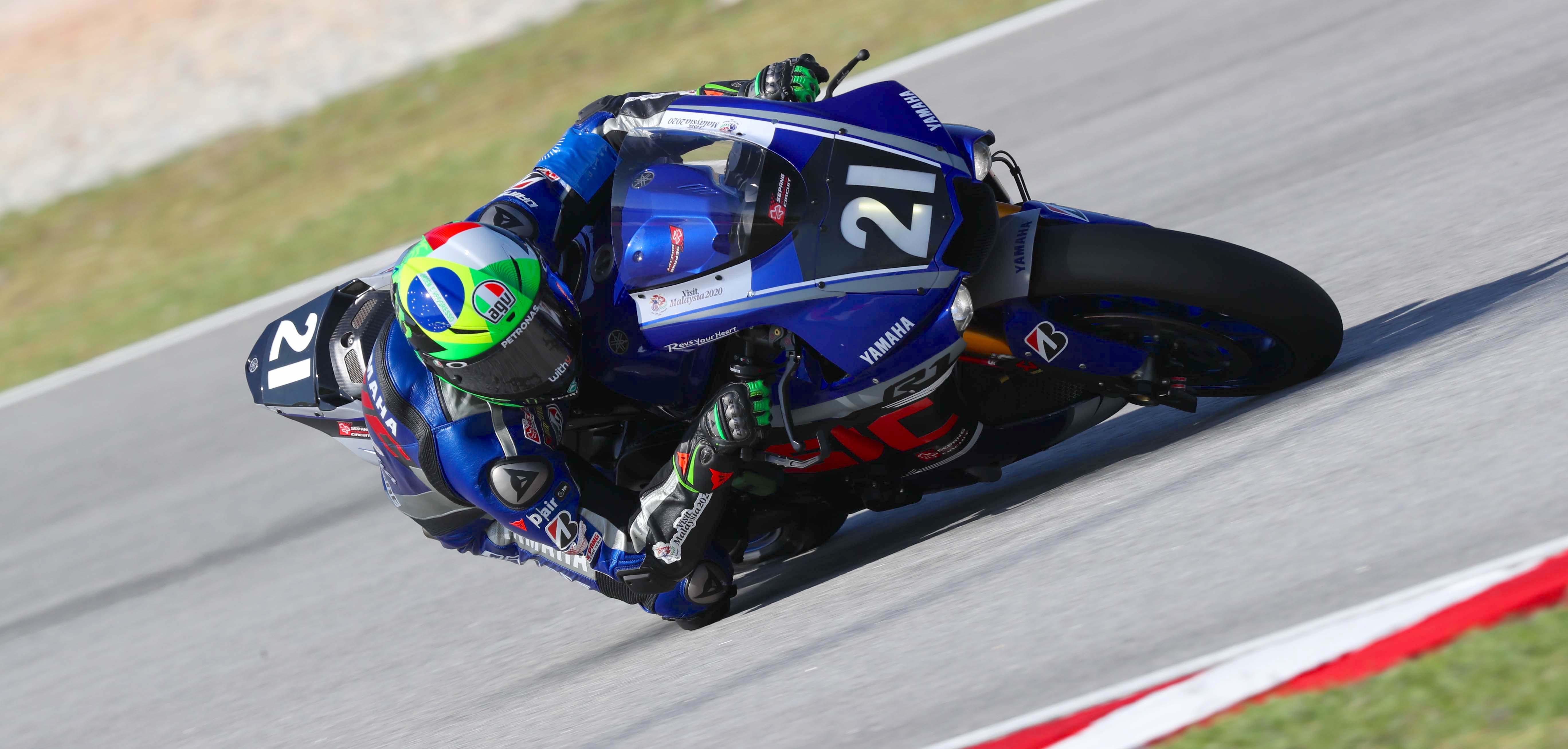Yamaha Sepang Racing on provisional pole