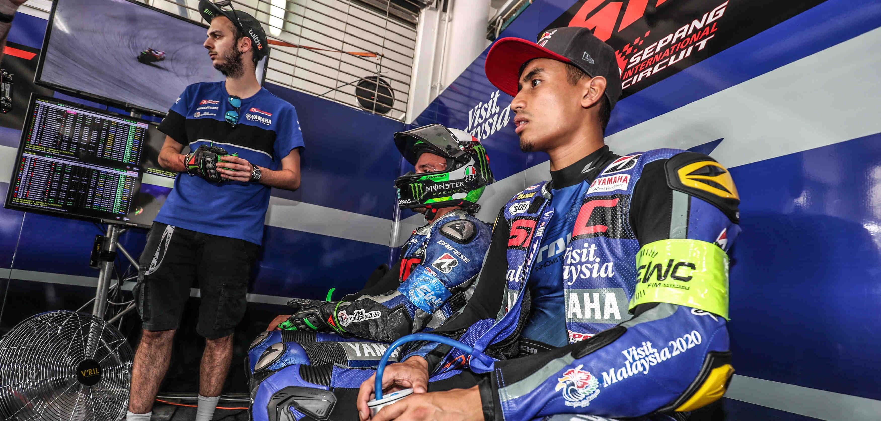 Yamaha Sepang Racing call the shots on home ground
