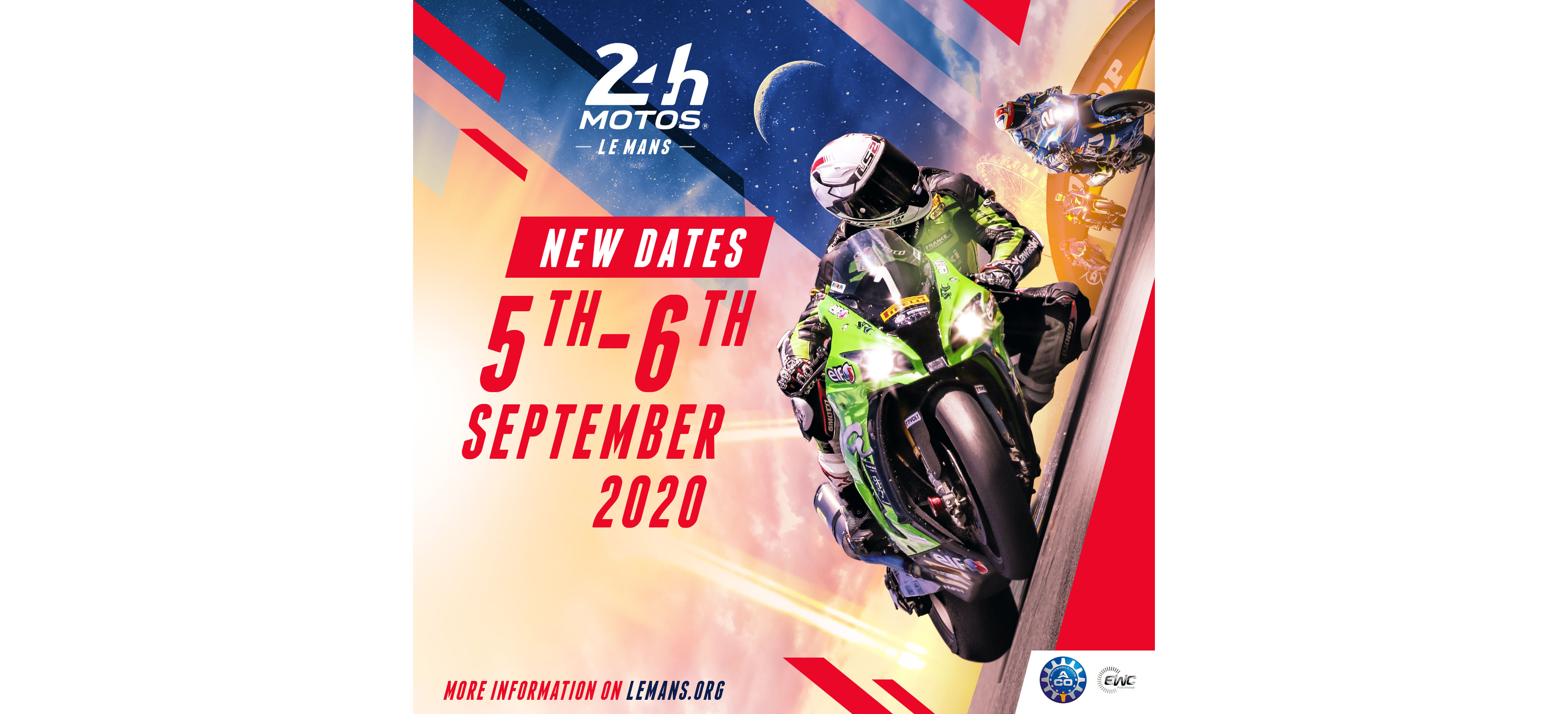 24 Heures Motos postponed to 5 and 6 September 2020