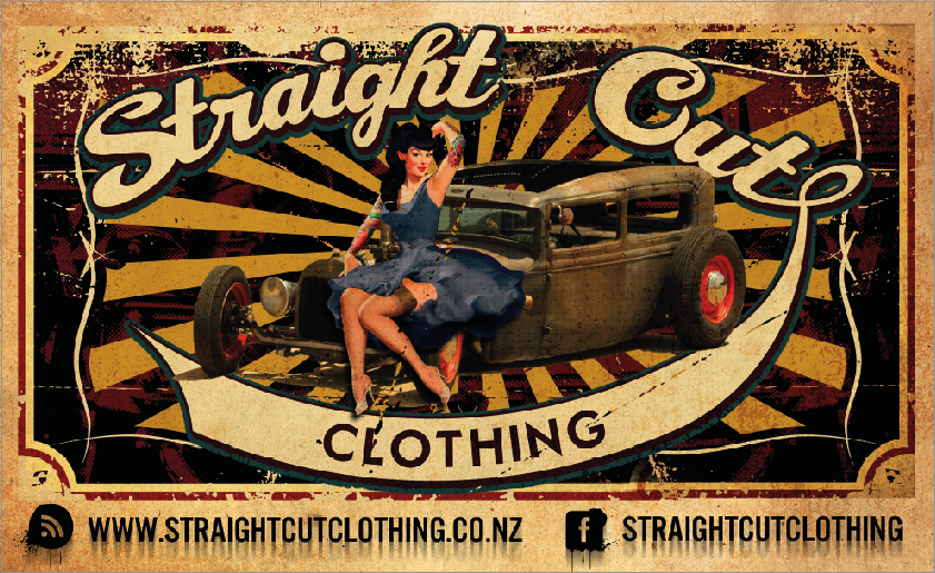Straight Cut Clothing Logo COLOUR