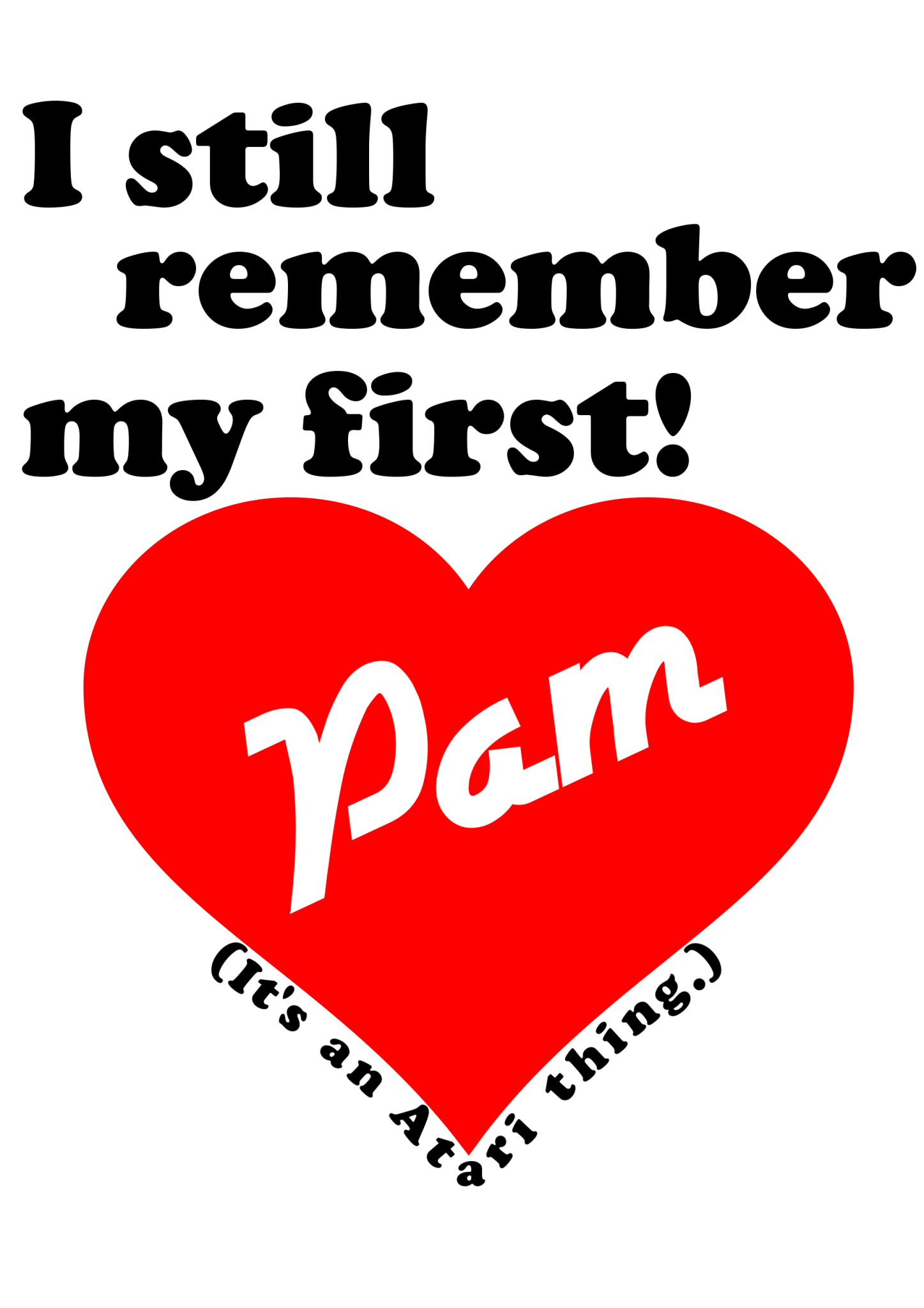 I still remember my first - Pam