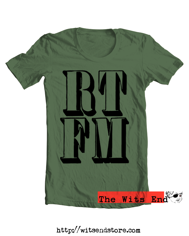 RTFM IT Tech humor tee shirt example