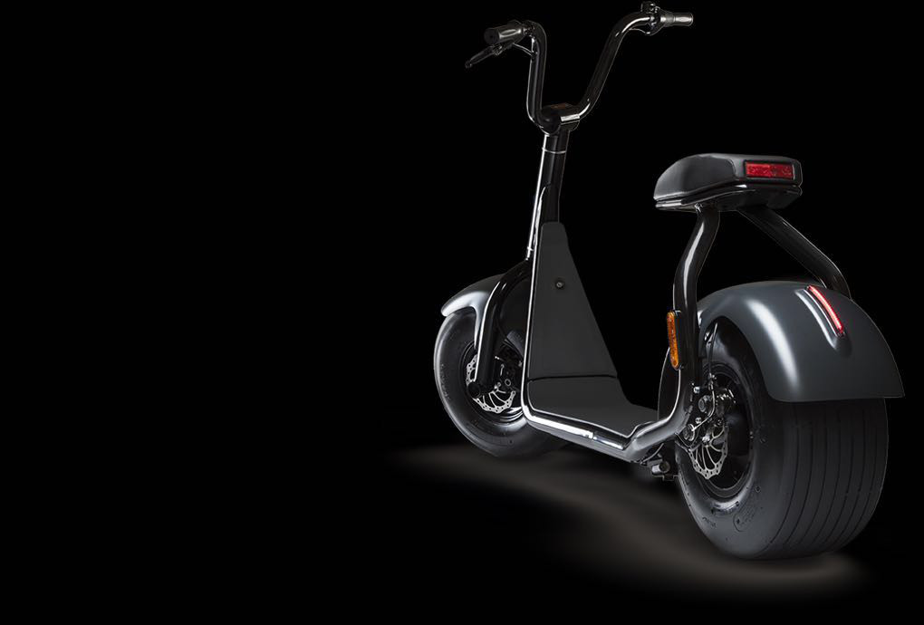 black harley electric scooter