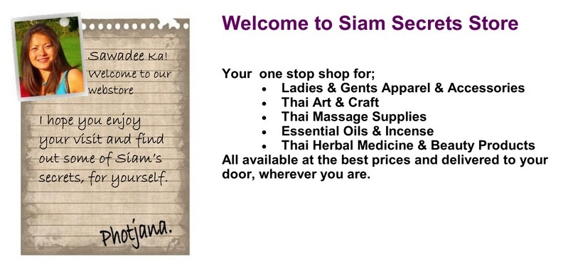 Welcome to Siam Secrets Your Thai Market online