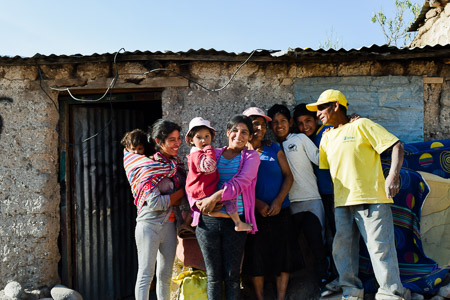 Guispe de Tenori's Family, Peru