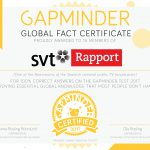 First Newsroom becoming Gapminder Certified