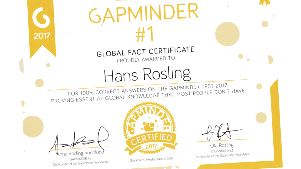 Gapminder | Unveiling the beauty of statistics for a fact