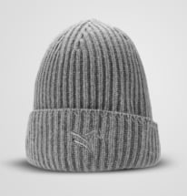 Light Grey Cashmere Beanie