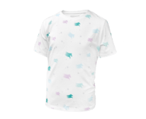 T-shirt White printed