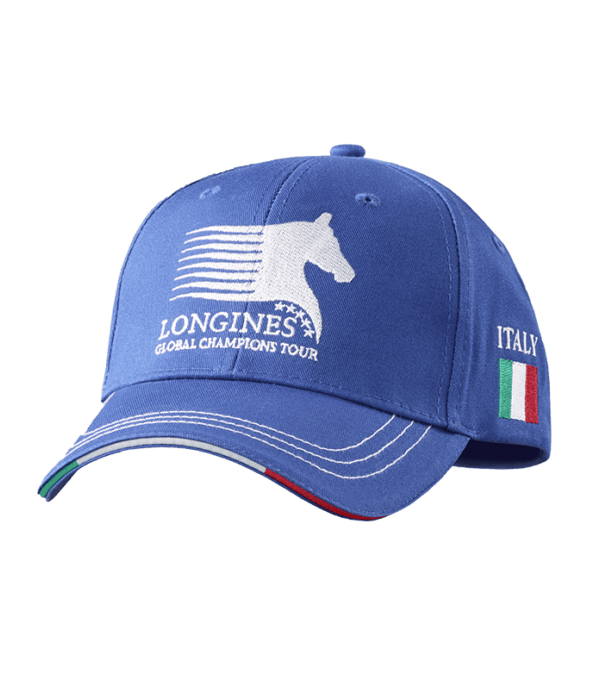 Italy Cap Royal Blue