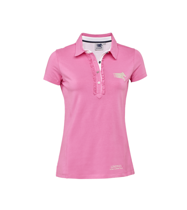 Polo Shirt Jersey Pink