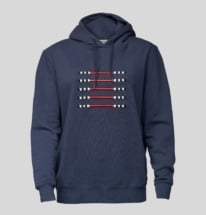 Navy Blue Hoodie Global Champions Sport