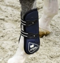 Front Tendon Boots Blue