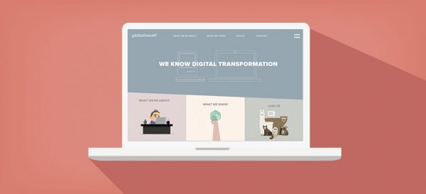 Globalmouth Digital Transformation Launch New Home Site Code Design