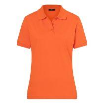 Jn071 Damespolo Dark Orange
