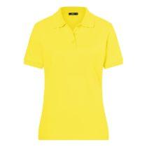 Jn071 Damespolo Yellow