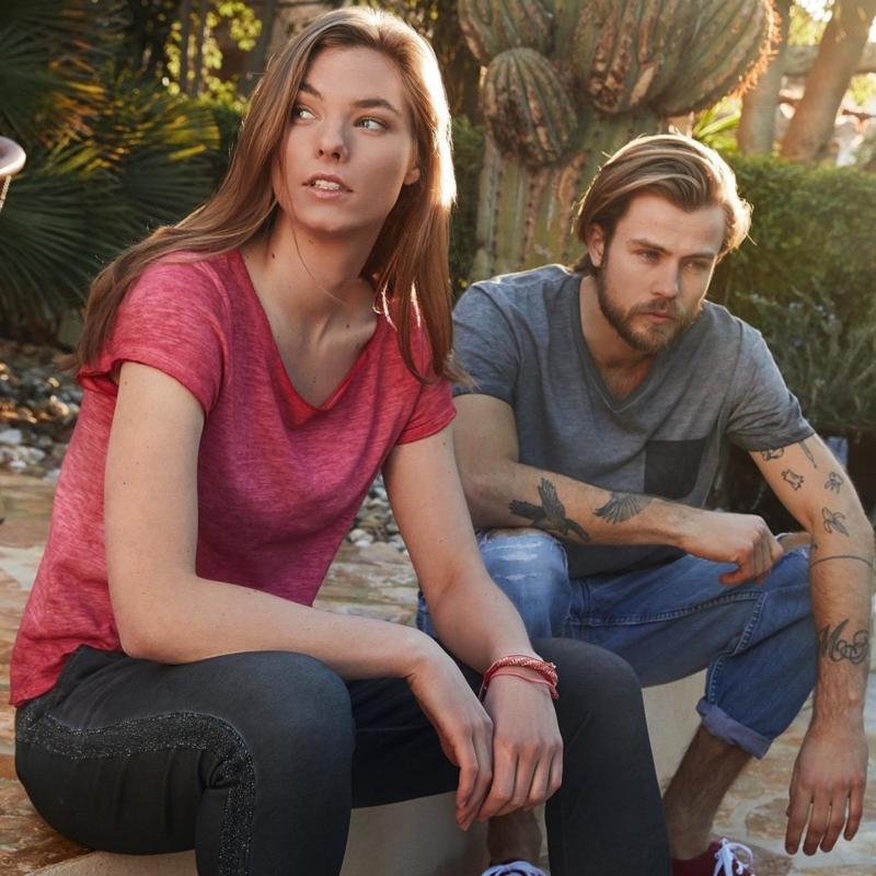 Jn8015 Organic Dames T Shirt
