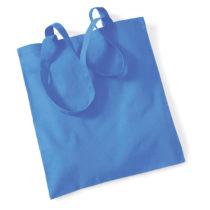 Draagtas Katoen Lang Handvat Cornflower Blue