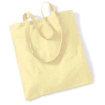 Draagtas Katoen Lang Handvat Pastel Lemon