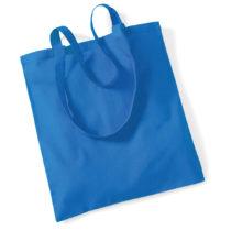 Draagtas Katoen Lang Handvat Sapphire Blue