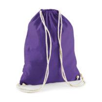 W110 Katoenen Rugtas Purple