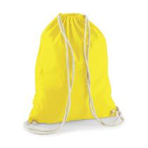 W110 Katoenen Rugtas Yellow