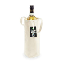 W620 Fairtrade Cotton Bottle Bag Katoenen Flessentas Naturel